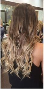 brunette ombre done right