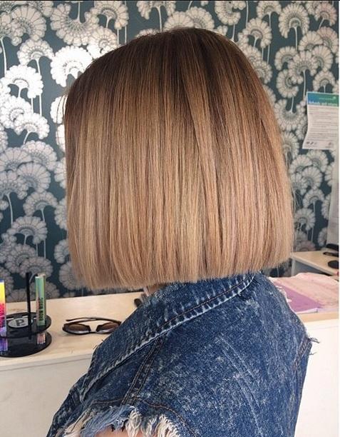modern box bob haircut and style