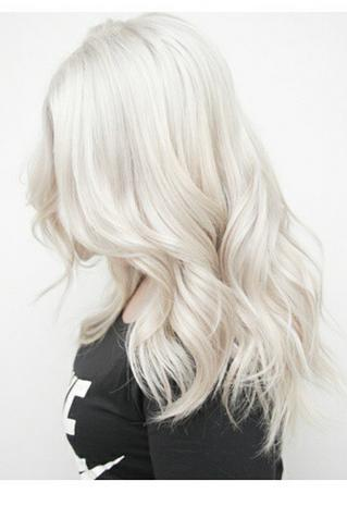 snow white hair color