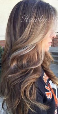 subtle sunkissed highlights