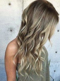 ash blonde highlights