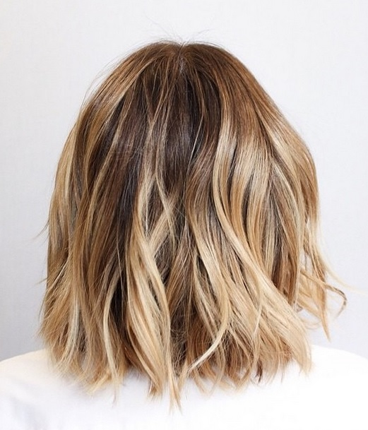 low maintenance blonde bob