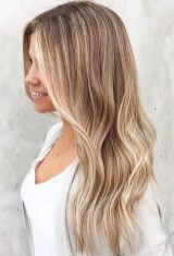 beach bronde hair color