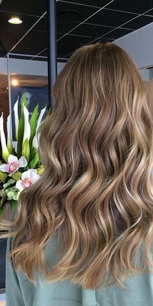 beige brunette hair color