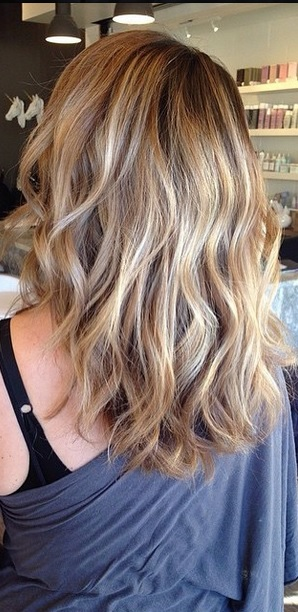 rooty bronde hair color