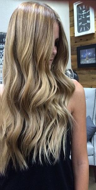 walnut bronde hair color
