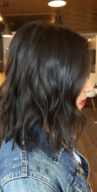dark brunette hair color