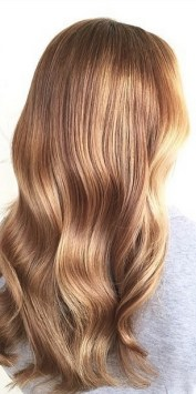 honey bronde highlights