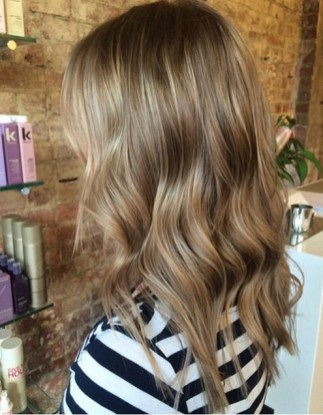 light brunette highlights