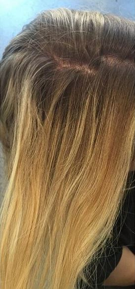 hair color before and after makeovers