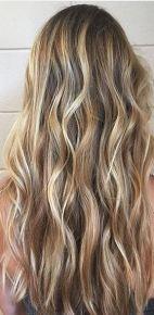 hair trends - sea salt blonde hair color