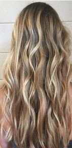 hair trends - sea salt blonde hair color