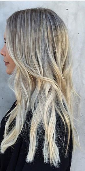 ice blonde babylights