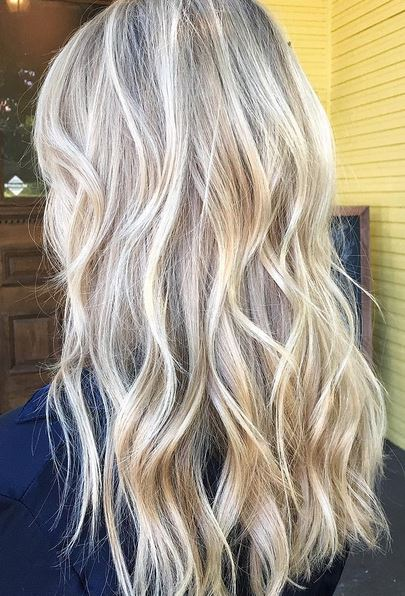 golden blonde balayage