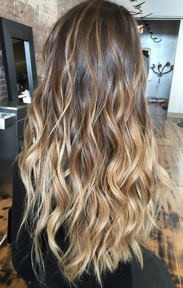 amazing balayage hair color