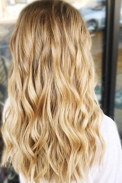 honey golden blonde
