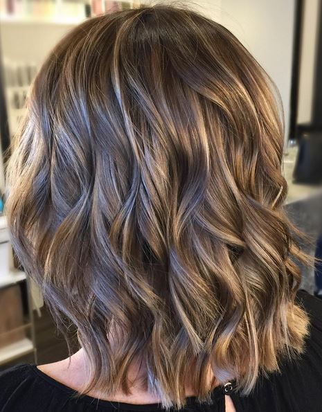caramel-highlights-on-light-brunette-base