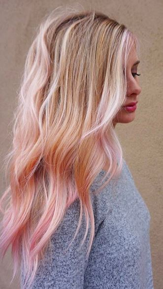 pastel-pink-pops-on-blonde-hair