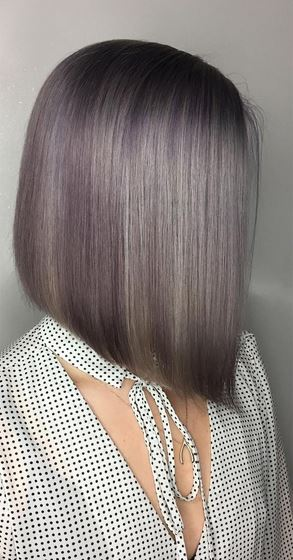 amazing triangular bob