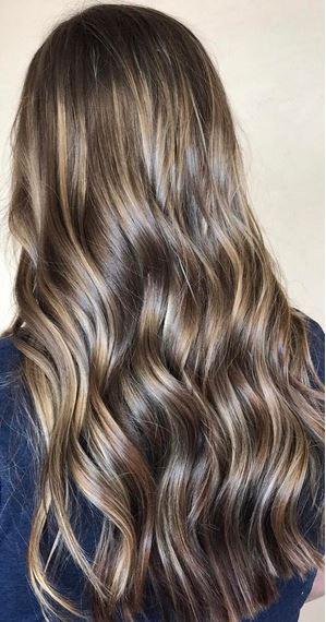 beautiful brunette hair color idea