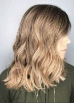 soft and beautiful hair color
