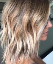 textured blonde hairstyle