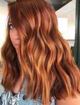 red hot hair color
