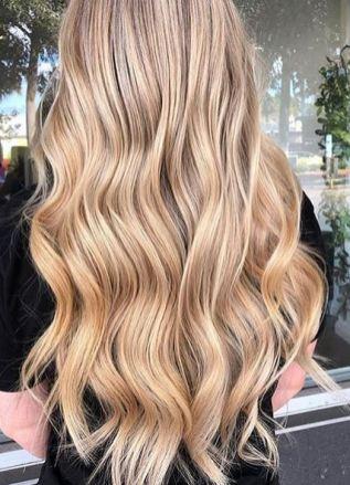 golden blonde beauty
