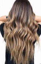 waves on long hair