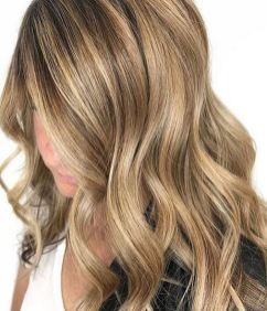 honey gold hair color