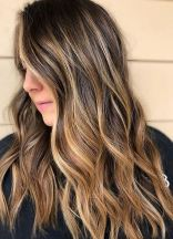 bronzed color highlights