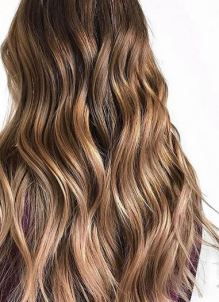 warm toned highlights