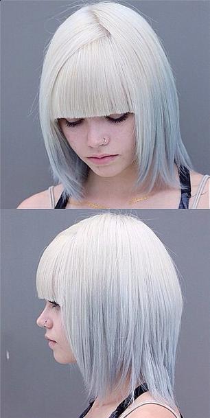 Futuristic Hair Mane Interest