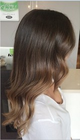 balayage brunette ombre highlights