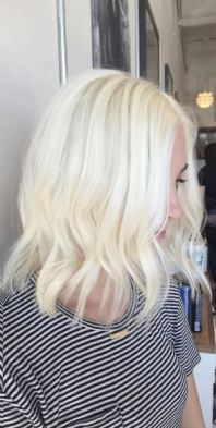 ice blonde hair color