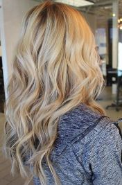 blonde hair color with extensions