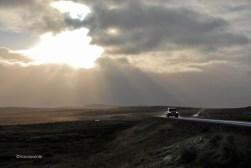 La meteorologia islandesa canvia en minuts