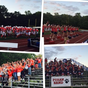 Fans came out last Friday to support