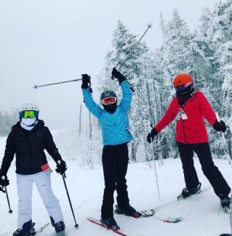Ski club picture Jessica Wolfe