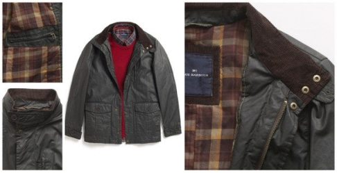 M&S | Cotton Waxed Jacket | £99