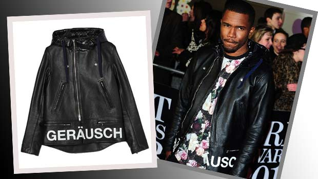 Frank Ocean | UNDERCOVER J4213 | Leather Jacket | Brit Awards 2013
