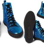 Wish List | Burberry Prorsum | Metallic Blue High-Tops