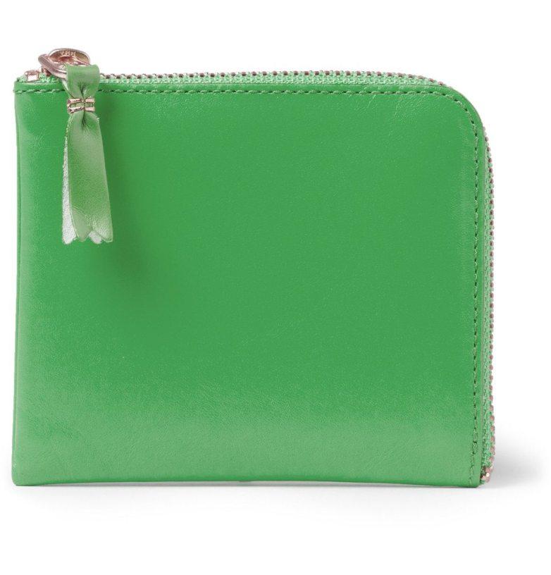 Commes-Des-Garcons-Green-Neon-Wallet