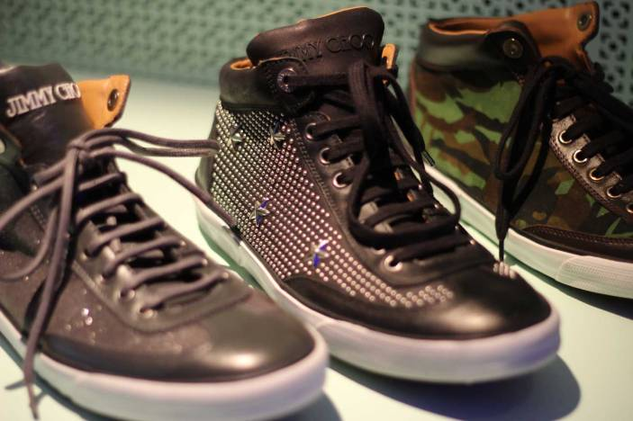 Jimmy-Choo-LCM-SS14-Presentation-Black-Studded-High-Tops