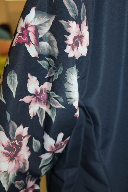 Bershka-SS14-Navy-Floral-Bomber-Close