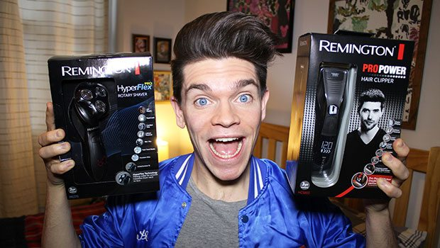 Remington-Giveaway_Robin-James_The-Utter-Gutter_Competition_Rotary-Shaver_Hair-Clipper