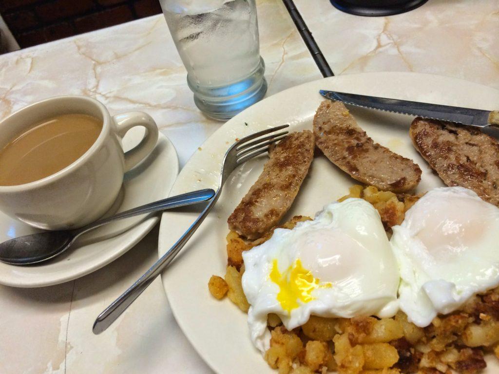 Stage Restaurant Hash Breakfast