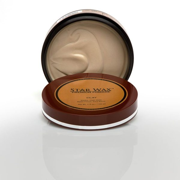 Star Wax Premium Pomade Clay