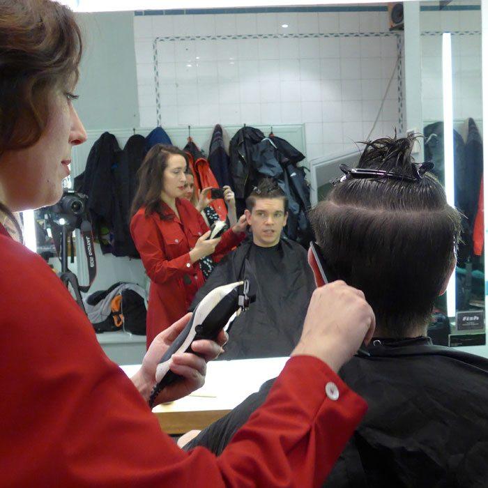 Mens-Disconnected-Undercut-Haircut-Fish-Soho-Robin-James-Clippers-Comb-Mirror