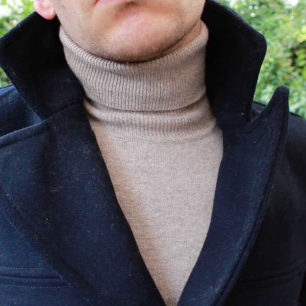United-Colors-of-Benetton-Merino-Wool-Roll-Neck-Beige